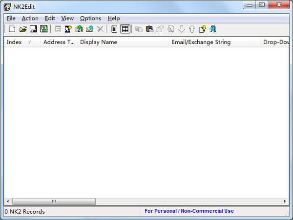 电子邮件处理工具(NK2Edit) V3.16 绿色版