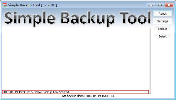 Simple Backup Tool(文件备份工具) V1.7.2.101 英文版