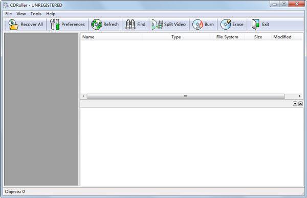 CDRoller(CD/DVD光盘数据恢复软件) V10.30.95 英文版