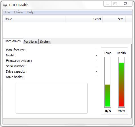 HDD Health(硬盘检测工具) V4.2.0.112 绿色版