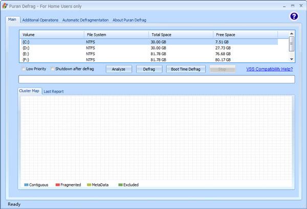 Puran Defrag(硬盘碎片整理工具) V7.7.1