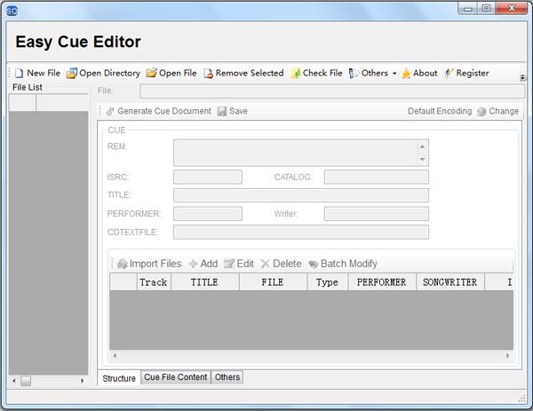 Easy Cue(音频文件修改器) V1.92.0.0