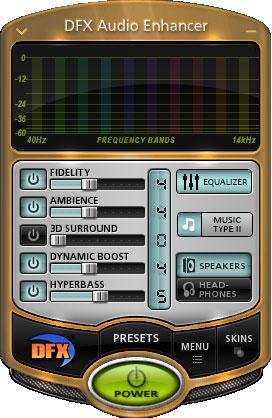 DFX Audio Enhancer(音频处理工具) V12.023