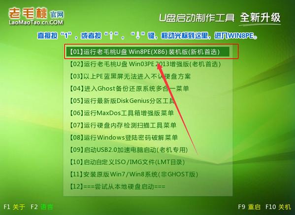 老毛桃U盘启动盘制作工具V2.13装机版(1)