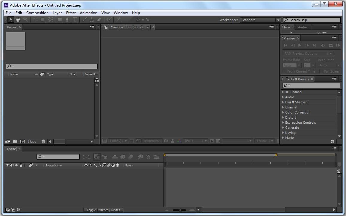 Adobe After Effects CS6(动画制作软件) V11.0.2.12