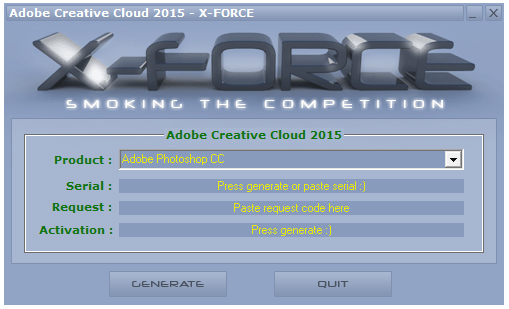 Adobe Photoshop CC 2015注册机 绿色版
