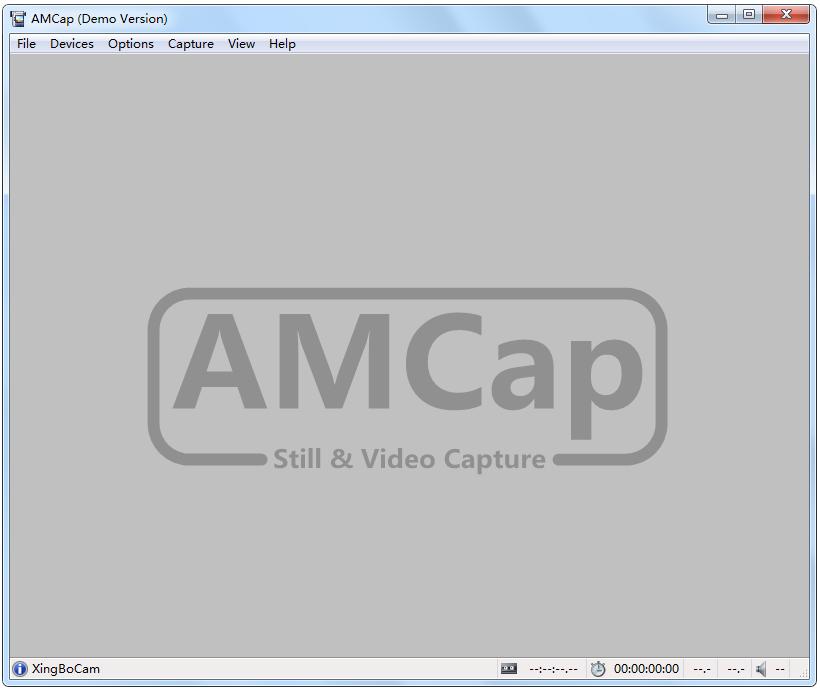 AMCap(摄像头捕捉管理工具) V9.22 英文版