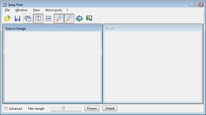 Jpeg Fixer(去除马赛克软件) V0.951 绿色版