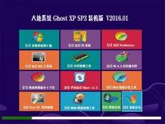大地系统 GHOST XP SP3 猴年装机版 V2016.01