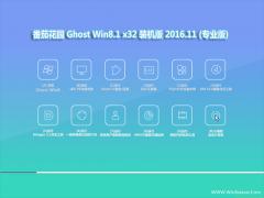 番茄花园Ghost Win8.1 X32位 安全稳定版2016V11(无需激活)
