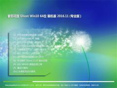 番茄花园Ghost Win10 X64 专业版2016v11(绝对激活)