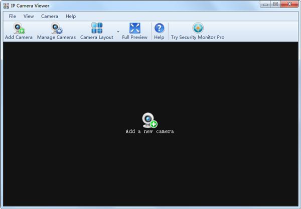 IP Camera Viewer(IP摄像监控系统) V4.01 英文版