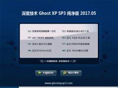 深度技术GHOST XP SP3 纯净版【V201705】