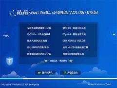 深度技术Ghost Win8.1 x64位 稳定装机版2017.06月(激