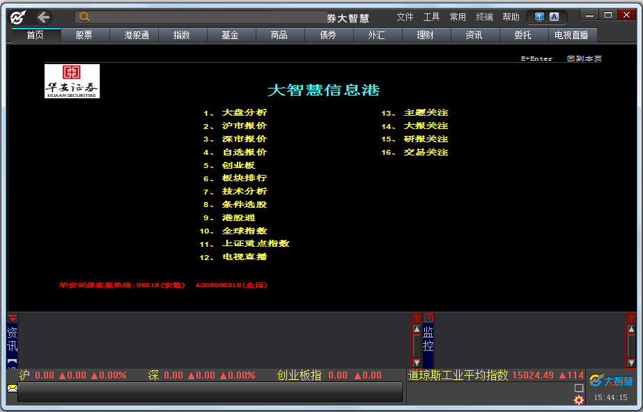 华安证券大智慧专业版 V7.60