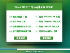 老毛桃GHOST XP SP3 笔记本通用版【2018v05】