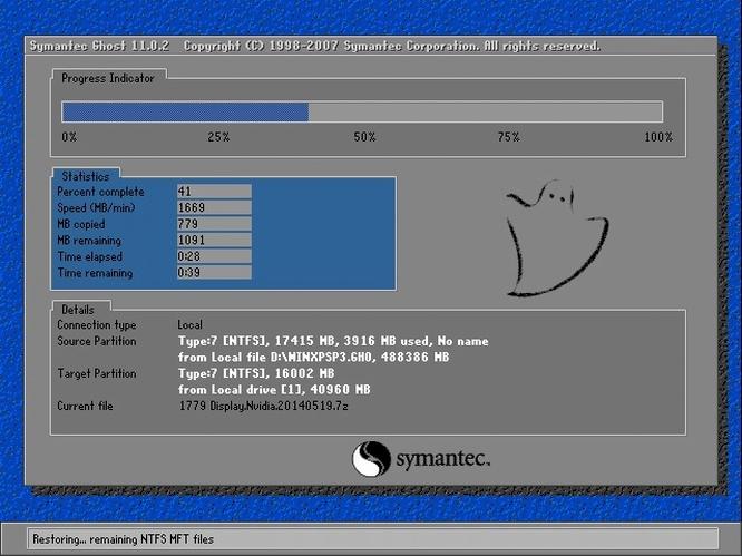 番茄花园GHOST XP SP3 经典装机版 v201907